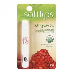 Softlips® Organic Pomegranate纯天然石榴果香有机唇膏