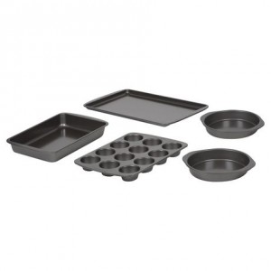 已更换链接Baker's Secret® Baking Set 5pc烤盘套装