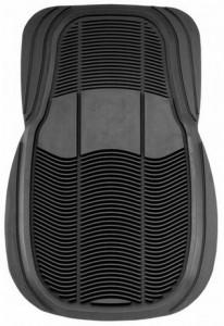 两款4pc Multi-Season Rubber汽车脚垫