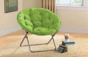Mainstays Rabbit Fur Saucer Chair飞碟椅