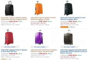 Samsonite Luggage & Bags新秀丽系列旅行箱包4折起