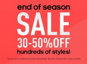Adidas季末促销,折扣30%-50% OFF