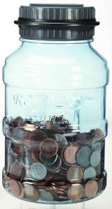 Gadgetree Water Bottle Coin Jar电子计数存钱罐