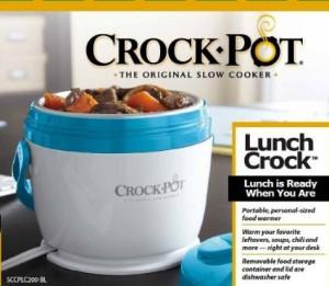 Crock-Pot Lunch Crock Food Warmer午餐加温饭盒,直接电加热