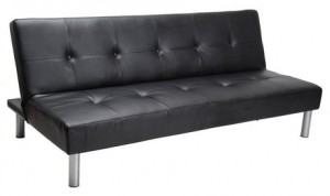 Faux Leather Sofa Bed仿皮沙发床