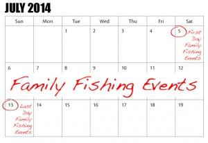 Ontario Family Fishing Events License-Free Days安省免费钓鱼周