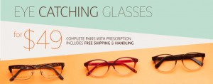 Clearly Contacts指定款式眼镜49元包邮包手续费,首次用户再打9折