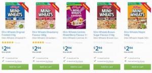 Kellogg's Mini-Wheats早餐营养麦片
