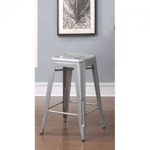 "Coaster 24"" Steel Counter Height Bar Stool(2 Pack)吧椅"
