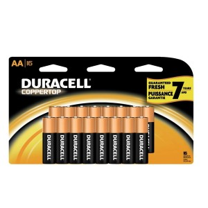 Duracell 9款Alkaline高能电池半价清仓