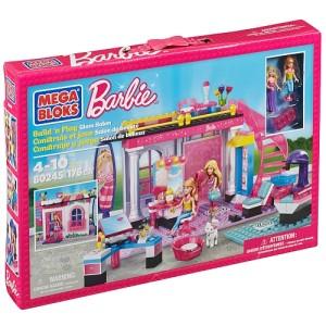 Mega Bloks - Barbie - Build 'n Play Glam Salon芭比积木