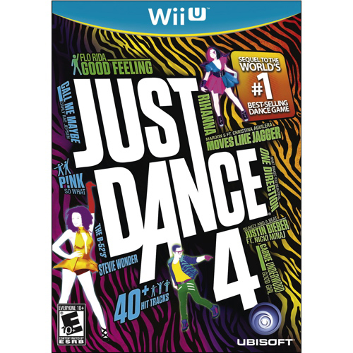 Just Dance 4 (Nintendo Wii U) - Previously Played