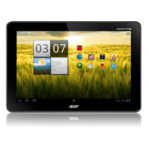 """ACER ICONIA A200 8GB 10.1"""" TABLET WITH ANDROID 4.0平板电脑 - OPEN BOX"""