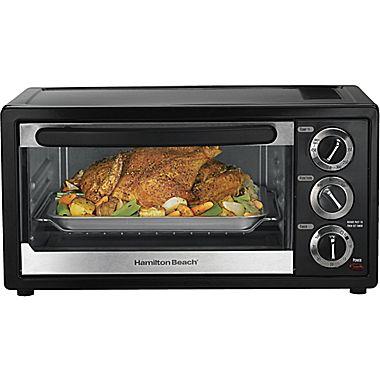 Hamilton Beach® 6-Slice Bagel Toaster Oven/Broiler电烤炉31.5元清仓并包邮