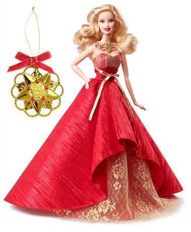 2014 Holiday Barbie Doll假日芭比娃娃