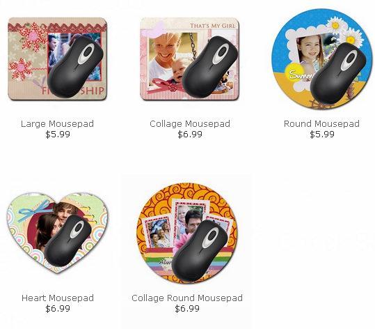 0.99元打印定制个性化鼠标垫还包邮!