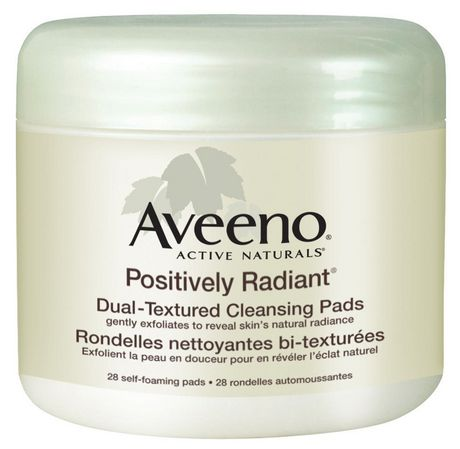 AVEENO® POSITIVELY RADIANT® Daily Cleansing Pads洁面巾