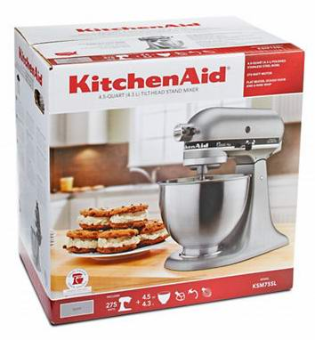 KitchenAid® Classic Plus Stand Mixer搅拌机+冰淇淋机配件