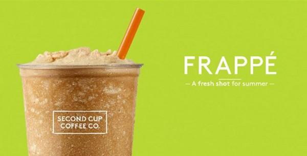 Second Cup全国门店今日(6月9日)下午2点-4点提供免费冰咖啡品尝