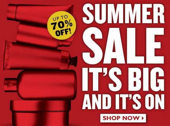 The Body Shop 夏季特卖上百款产品3折起