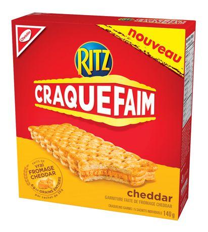 Ritz Crackerfuls Cheddar 140g 夹心饼干折上折1.02元清仓