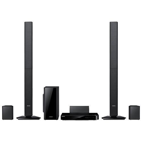 Samsung 1000-Watt 5.1 Channel 3D Blu-Ray Home Theatre System (HT-F5530) 3D蓝光家庭影院