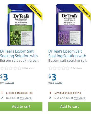 Dr Teal's Epsom Salt Soaking Solution - 1.36 kg沐浴盐,舒缓疲劳减压促睡眠