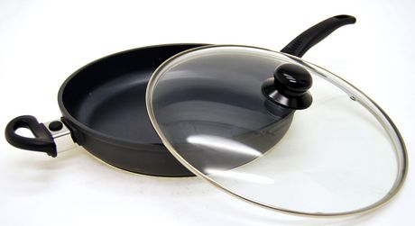 Starfrit® Titan Pro Cast Aluminum 4.6qt Deep Fry Pan with lid铸铝不粘底深煎锅2折清仓,可换短手柄