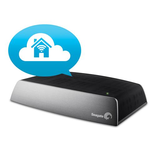 Seagate Central 2TB Network Attached Storage (STCG2000100)网络共享备份硬盘