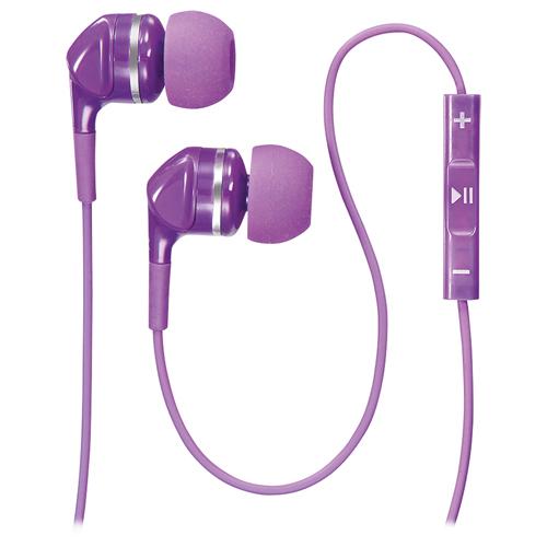 Rocketfish Earbud Headset (FIRE3) - Purple 带mic遥控入耳式耳机