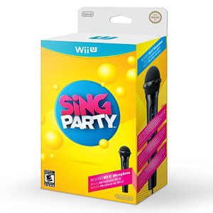 SING PARTY WITH MICROPHONE FOR WII U