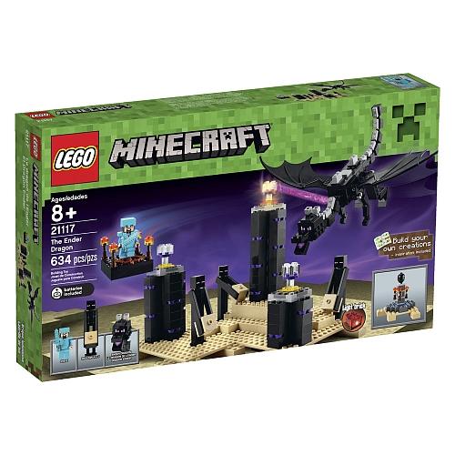 LEGO Minecraft: The Ender Dragon (21117) 末影龙 634pcs