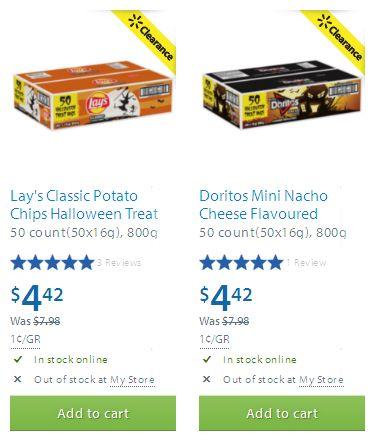 Walmart两款万圣节糖果4.42元清仓