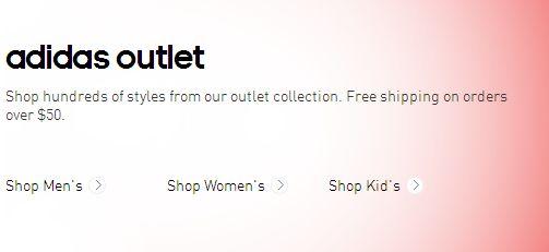 Adidas清仓区900余款服饰2.5折起、鞋子5折起特卖,使用paypal支付额外9折