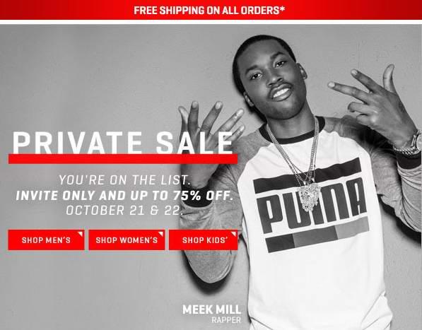 今夜最后机会,部分商品再次降价!Puma 48小时秘密特卖,近千款鞋子、服饰、帽子、背包等2.5折起,全场包邮!