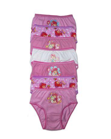 Strawberry Shortcake 7-Pack Underwear 女童纯棉内裤7条装5元清仓