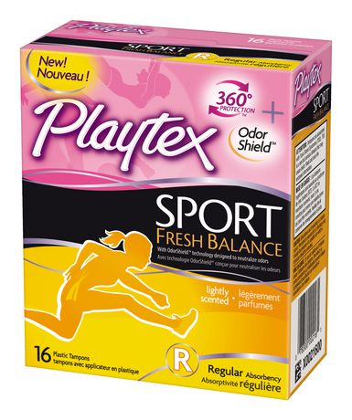 Sport® Fresh Balance™ tampons Regular Absorbency 16ct卫生棉条2元清仓