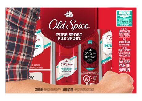 Old Spice Holiday Pack沐浴礼品套装3.5元清仓