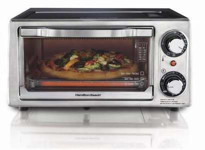 Hamilton Beach® 4 Slice Toaster Oven/Broiler电烤炉折后不到15元还包邮!