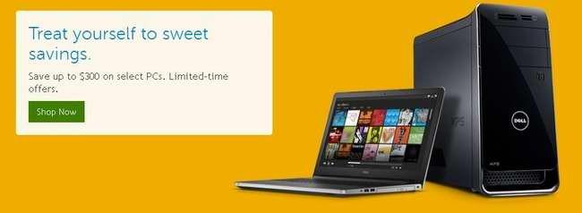 Dell万圣节特卖,全场笔记本、台式机、电视、显示器、相机、电子产品等特价销售,另还有额外折扣