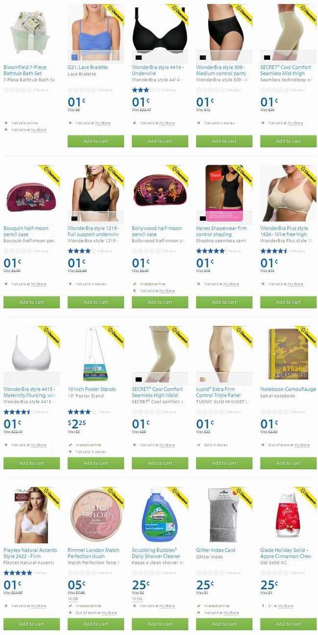 Walmart今日抽风,新增上千款大折扣清仓商品,多数无货!