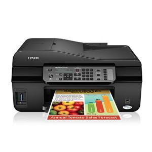 开箱品EPSON WORKFORCE 435 ALL-IN-ONE PRINTER多功能喷墨打印机