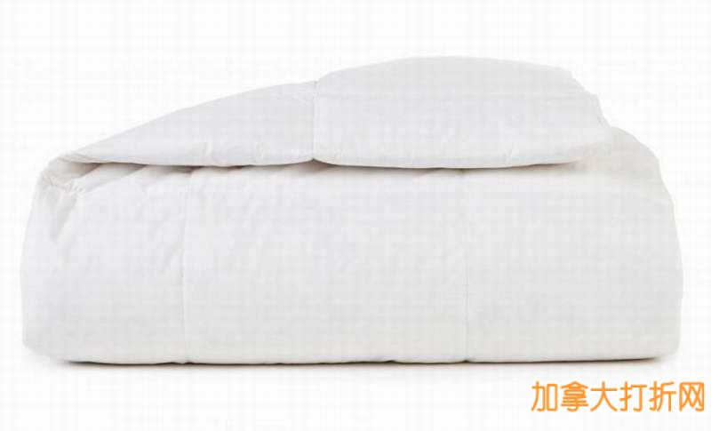 WholeHome/MD 233 Thread Count White Duck Down Duvets 纯天然白色鸭绒被49.99元起特卖并包邮!