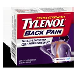 免费申请Tylenol Back Pain泰诺背痛片试用装