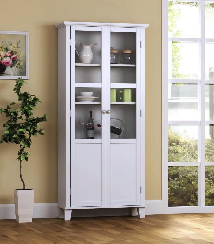 Homestar Furniture  2门储物柜特价165.98元,另一款黑色特价160.98元,原价249.99元,包邮