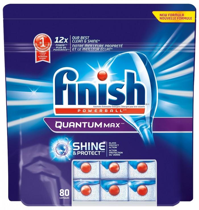 Finish Quantum 80片洗碗清洁剂特价17.44元,原价29.99元