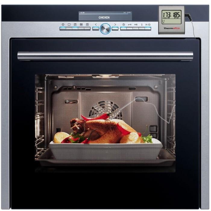 ThermoPro TP-16 大型液晶数字烤制烤箱,烹饪,肉类温度计不锈钢降压型探头,并内置在烹饪时钟计时器 限时特价22.09元,原价49.99元,包邮
