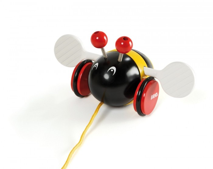 Schylling Brio 婴儿拉大黄蜂玩具特价8.84元,原价28.84元
