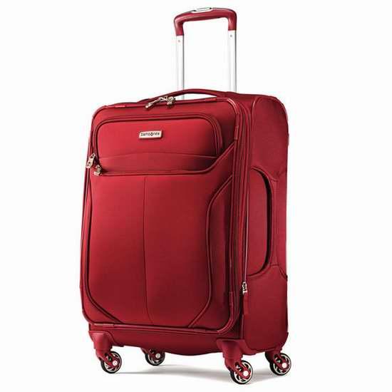 Samsonite 新秀丽 Liftwo 19寸超轻级4万向轮拉杆行李箱/登机箱1.8折82.99元限时抢购!