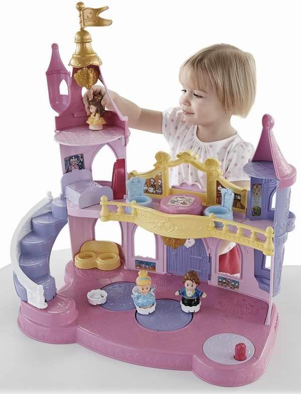 Fisher-Price 费雪迪士尼公主音乐跳舞宫殿玩具3.8折25元特卖并包邮!